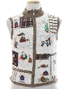 Womens Country Kitsch Ugly Christmas Sweater Vest