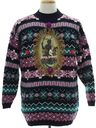 Unisex Krampus Vintage Ugly Christmas Sweater