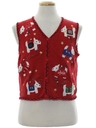Womens Dog-Gonnit Ugly Christmas Sweater Vest