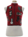 Womens/Girls Country Kitsch  Ugly Christmas Sweater Vest