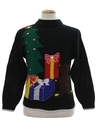 Unisex Ladies or Boys Vintage Bear-riffic Ugly Christmas Sweater