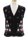Unisex Ladies Girls or Boys Ugly Christmas Sweater Vest