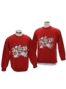 Unisex Ugly Christmas Matching Set of Sweatshirts