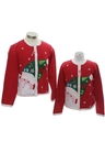 Unisex Girls or Boys Ugly Christmas Matching Set of Sweaters