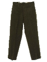 Mens Fab Forties Military Uniform Pants