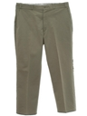 Mens Uniform Flat Front Slacks Pants