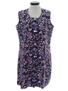 Womens Mod Frock Dress