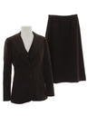 Womens Wool Suit