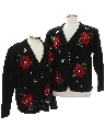 Unisex Ugly Christmas Matching Set of Cardigan Sweaters