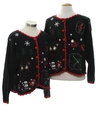 Unisex Country Kitsch Style Ugly Christmas Matching Set of Sweaters