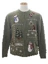 Unisex Country Kitsch Ugly Christmas Sweater