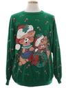 Unisex Vintage Cat-Tastic Ugly Christmas Sweatshirt