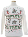 Unisex Vintage Ugly Christmas Sweatshirt