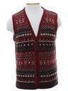 Unisex Snowflake Sweater Vest