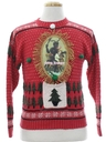 Unisex Ladies or Boys Krampus Ugly Christmas Sweater