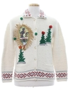 Womens Krampus Ugly Christmas Sweater