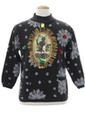 Unisex Krampus Ugly Christmas Sweatshirt