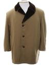 Mens Wool Car Coat Jacket