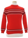 Unisex Girls or Boys Ski Sweater