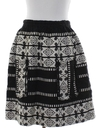Womens Hippie Mini Skirt