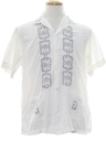 Mens Embroidered Guayabera Sport Shirt