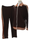Mens Track Pants and Jacket Suit