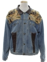 Mens Totally 80s Western Denim Jacket