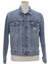 Mens Totally 80s Designer Denim Jacket