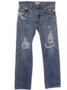 Mens Grunge Levis Jeans Pants