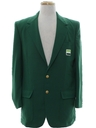 Mens Totally 80s Golf Blazer Sport Coat Jacket