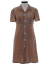 Womens Mod Day Dress