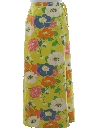 Womens Pow-Flower Hippie Skirt