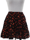 Womens Totally 80s Mini Square Dance Skirt