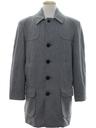 Mens Mod Wool Pendleton Overcoat Jacket