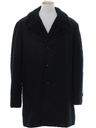 Mens Mod Wool Car Coat Style Overcoat Jacket
