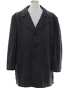 Mens Wool Car Coat Style Overcoat Jacket