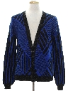 Mens Totally 80s Cardigan Cosby Sweater
