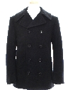 Unisex Wool Pea Coat Jacket