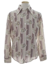 Mens Mod Disney Print Collectible Shirt