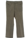 Mens Plaid Leisure Pants