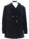 Womens Wool Pea Coat Jacket