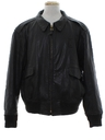 Mens Leather US Border Patrol Jacket