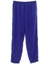 Mens Totally 80s Baggy Track Pants