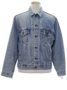 Mens Grunge Levis Denim Jacket
