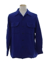 Mens Wool Board Shirt or Sport Shirt