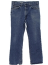 Mens Loose Fit Grunge Denim Jeans Pants