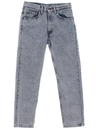 Mens Acid Washed Levis Straight Leg Jeans Pants