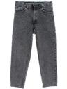 Mens Levis Stone Washed Slight Taper Cut Straight Leg Jeans Pants