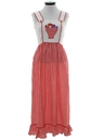 Womens or Girls Embroidered Hippie Maxi Dress