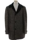 Mens Mod Pendleton Car Coat Jacket